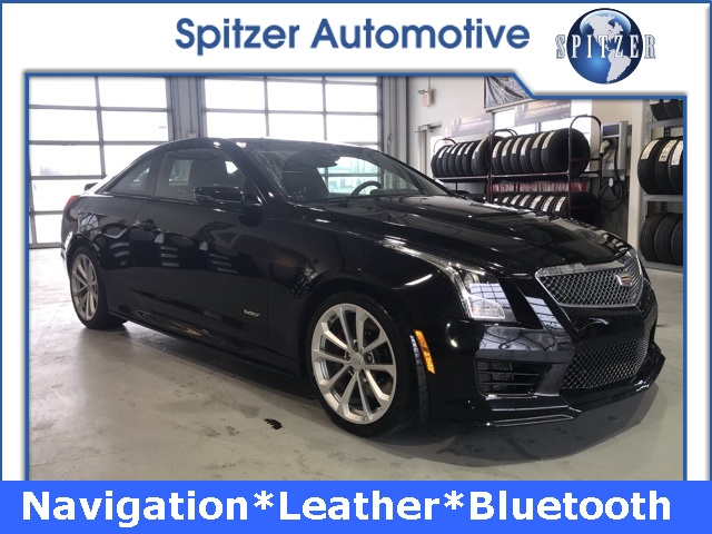 2016 Cadillac Convertible >> Pre Owned 2016 Cadillac Ats V Base 2d Coupe In Cleveland 6995sf