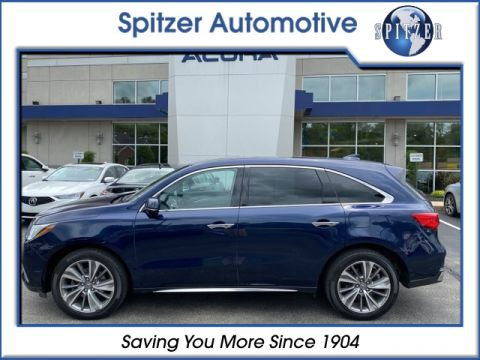 Pre-Owned 2017 Acura MDX 3.5L With Navigation & AWD